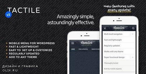 CodeCanyon - Tactile v2.1 - WordPress Mobile Menu - 10454486