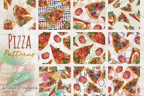 Hawaiian Pizza Watercolor png - 3705725