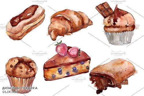 Dessert Cake with Chocolate - 3706076