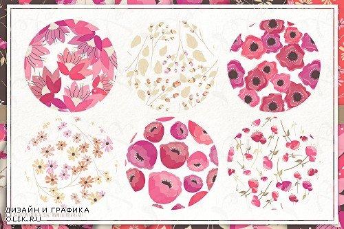Springtime 03 - Seamless Patterns - 3696545