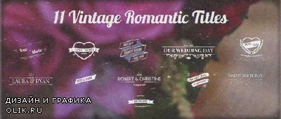 11 Vintage Wedding Titles for Premiere Pro