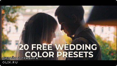 20 Wedding Color Presets for Premiere Pro