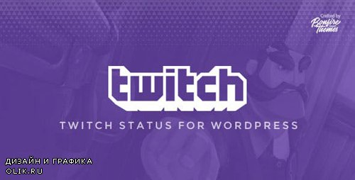 CodeCanyon - Twitch Status for WordPress v1.3 - 21844114