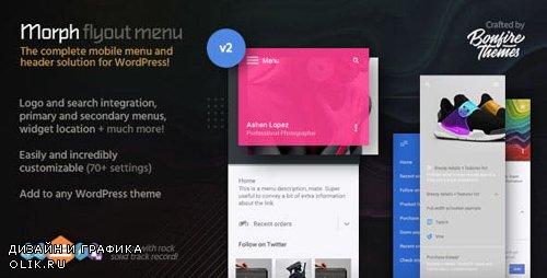 CodeCanyon - Morph v2.3 - Flyout Mobile Menu for WordPress - 10685700