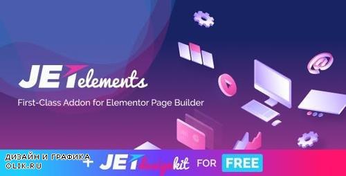 CodeCanyon - JetElements v1.15.8 - Widgets Addon for Elementor Page Builder - 20407053