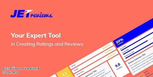 CodeCanyon - JetReviews v1.2.1 - Reviews Widget for Elementor Page Builder - 21446186