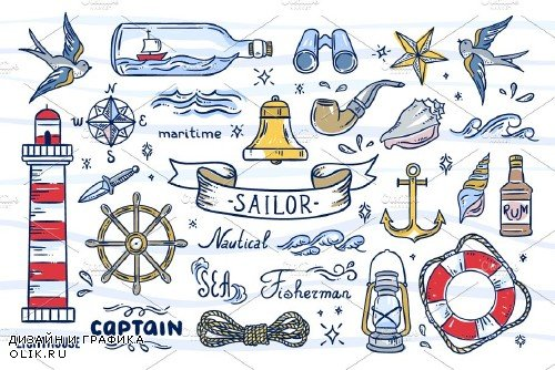 Sailor Illustrations - 1681495