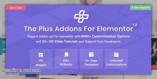 CodeCanyon - The Plus v1.4.3 - Addon for Elementor Page Builder WordPress Plugin - 22831875 -