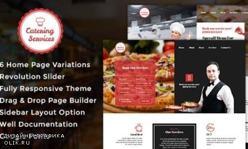 ThemeForest - Catering v1.1 - Chef - Restaurant - Catering WordPress Theme - 17692233
