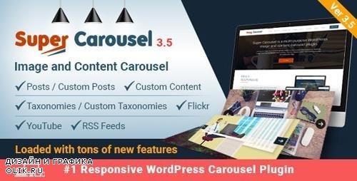 CodeCanyon - Super Carousel v3.5.5 - Responsive Wordpress Plugin - 4505016