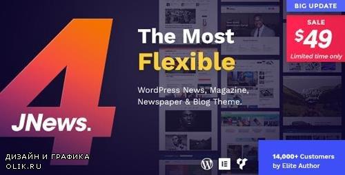 ThemeForest - JNews v4.0.7 - WordPress Newspaper Magazine Blog AMP Theme - 20566392 - NULLED