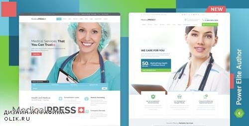 ThemeForest - MedicalPress v3.0.0 - Health and Medical WordPress Theme - 7789703