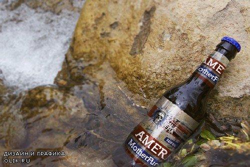 Riverside Stone | Beer Mockup - 262256