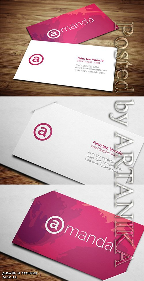 CreativeMarket - Creative Business Card 4 2246598