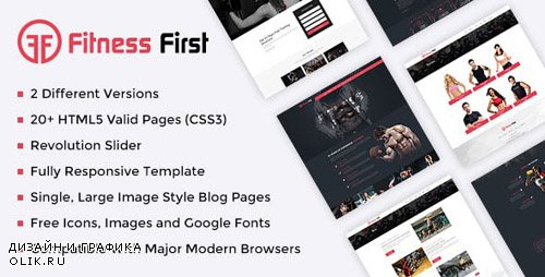 ThemeForest - Fitness Gym Html Template (Update: 3 August 18) - 20026110