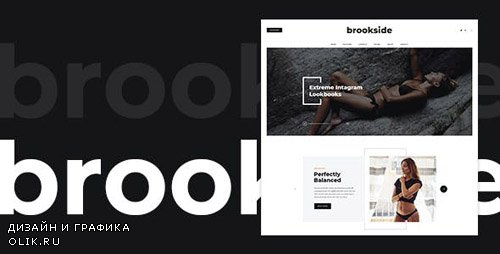 ThemeForest - Brookside v1.0 - Blog PSD Template - 23067229