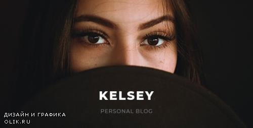 ThemeForest - Kelsey v1.0 - Blog PSD Template - 23130733