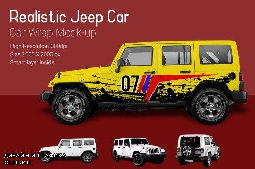 Jeep Car Mock-Up - 3722631