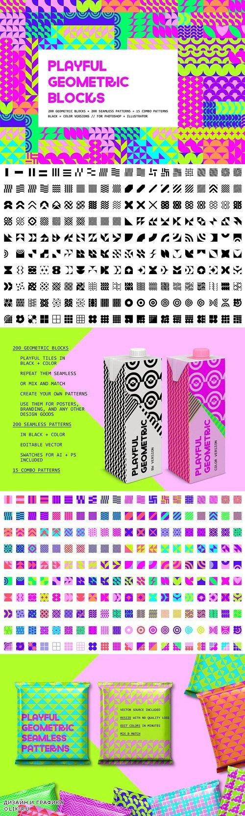 Playful Geometric Blocks - 3515803