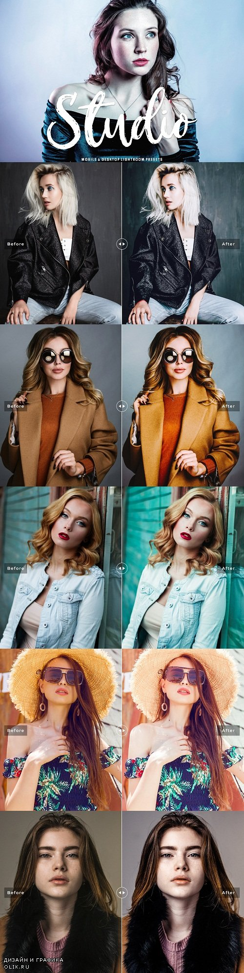 Studio Lightroom Presets Pack - 3714675