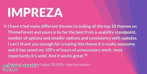 ThemeForest - Impreza v6.0.3 - Multi-Purpose WordPress Theme - 6434280 - NULLED