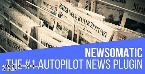 CodeCanyon - Newsomatic v2.4.0 - Automatic News Post Generator Plugin for WordPress - 20039739 - NULLED