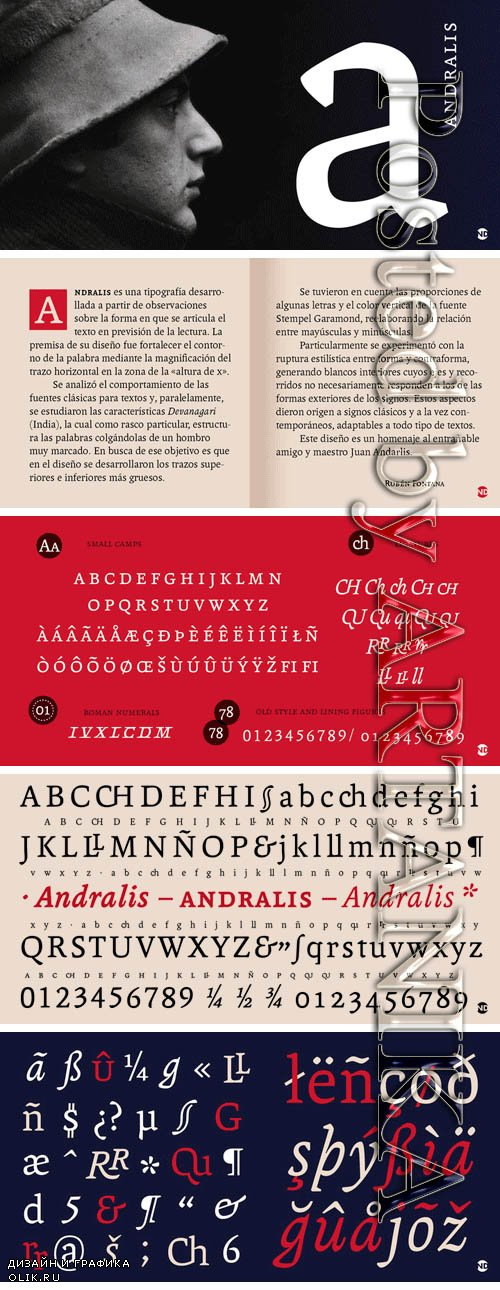 Andralis ND Font Family