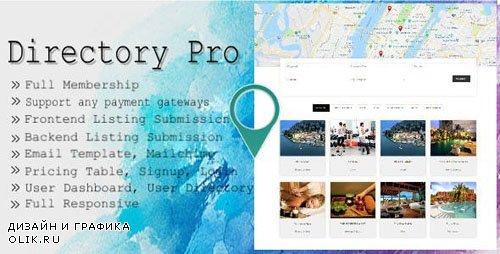 CodeCanyon - Directory Pro v1.6.4 - WordPress Plugin - 12488012