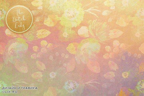 Floral Background & Paper - Michelle - 3725915