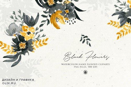 Black Flowers - 3733672
