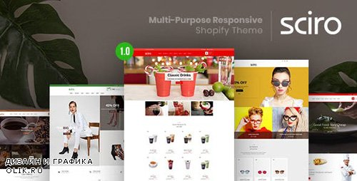 ThemeForest - Sciro v1.0.0 - Multi-Purpose Responsive Shopify Theme - 22835144