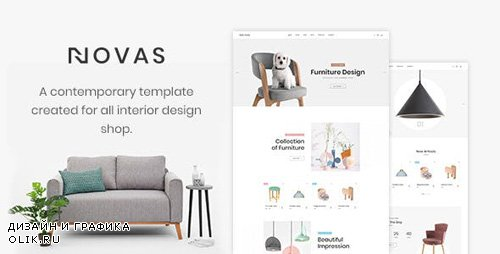 ThemeForest - Novas v1.0 - Furniture Store and Handmade Shop HTML5 Template - 23123473
