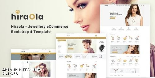 ThemeForest - Hiraola v1.0 - Jewellery eCommerce Bootstrap 4 Template - 23725409