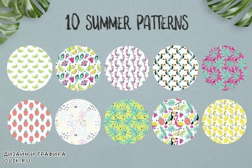 Summer graphic collection - 1760632