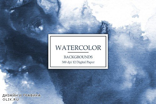 Watercolor Backgrounds - 2540488