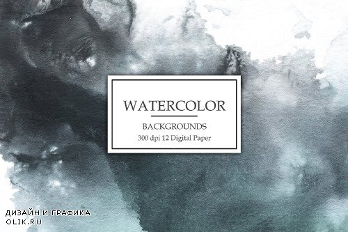 Watercolor Backgrounds - 3062780