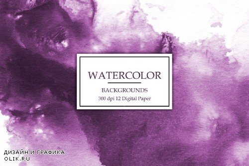 Pink Watercolor Backgrounds - 3063044