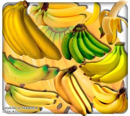 Растровые клипарты - Африканские бананы