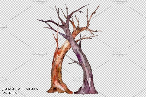 Wedding Tree Watercolor png - 3749490