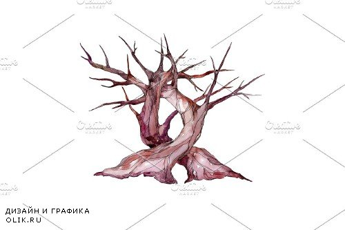 Wedding Tree A happy family - 3749502