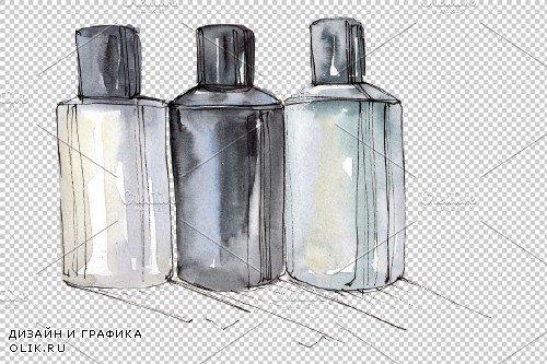 Fantasy fashion watercolor png - 3748177