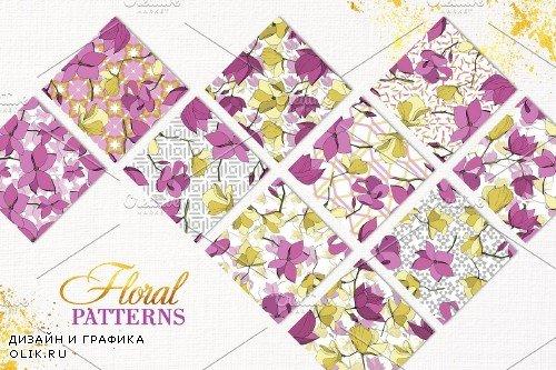 Magnolia Vector Set - 3745705