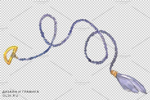 Ropes Watercolor png - 3745533
