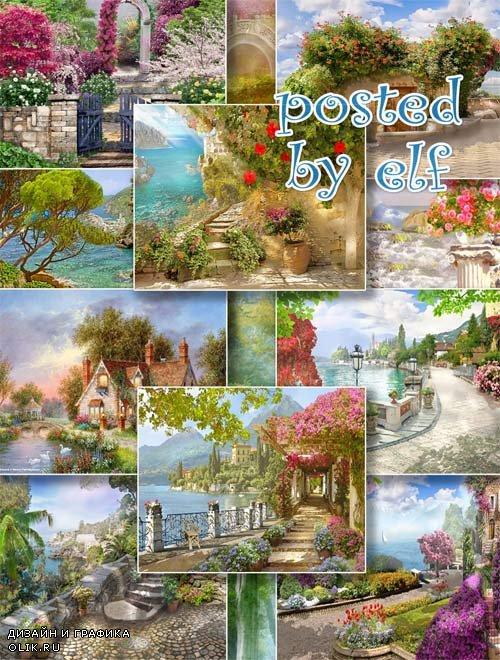 Сказочные фоны для фотошопа 2