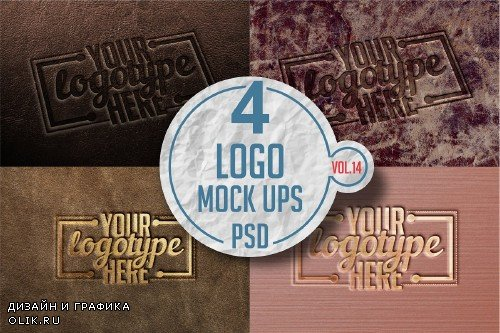 Logo Mock-up Pack Vol.14 - 3340122