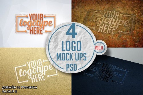 Logo Mock-up Pack Vol.11 - 3332196