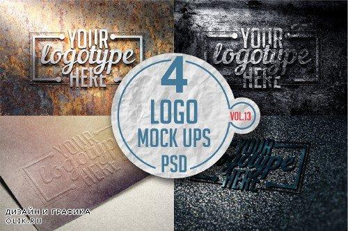 Logo Mock-up Pack Vol.13 - 3332353