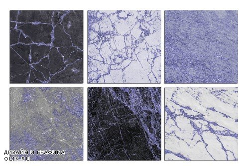 Lavender Marble and Stone Textures - 2511091