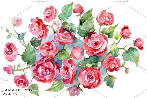 Bouquet of roses pink Metamorphosis - 3755719