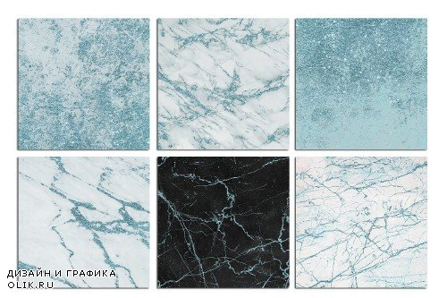 Turquoise Marble and Stone Textures - 3113574